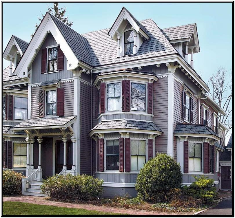 victorian house exterior color schemes