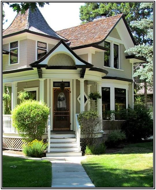 Victorian House Exterior Colour Schemes