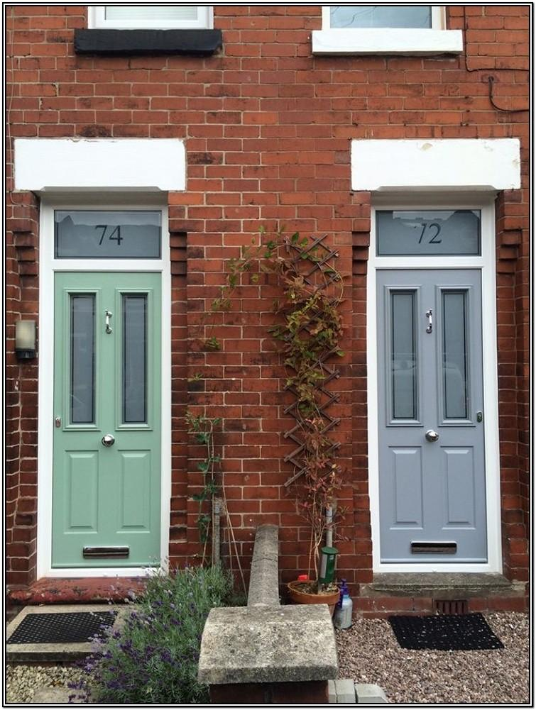 Victorian Terrace Front Door Colours