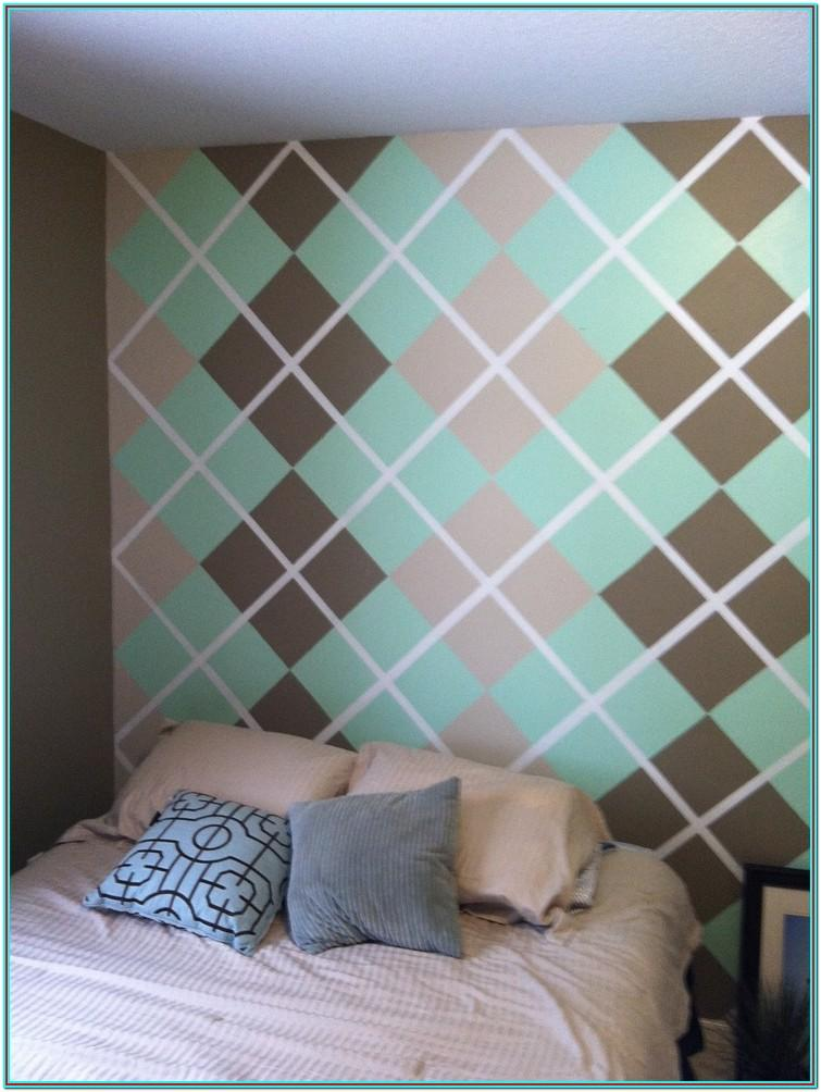 Wall Paint Design Ideas With Tape