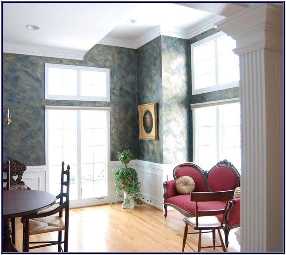 Wallpaper Paint Combination Ideas