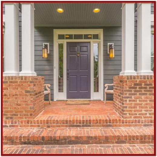 What Exterior Paint Color Goes With Orange Brick