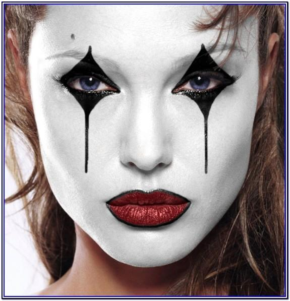 White Halloween Face Paint Ideas
