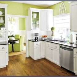 White Kitchen Cabinet Paint Color Ideas