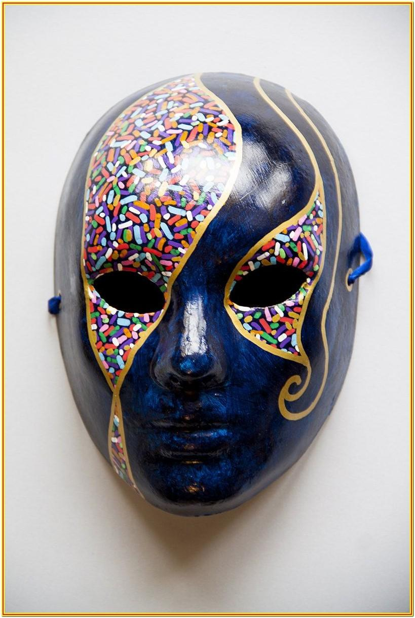 White Mask Painting Ideas