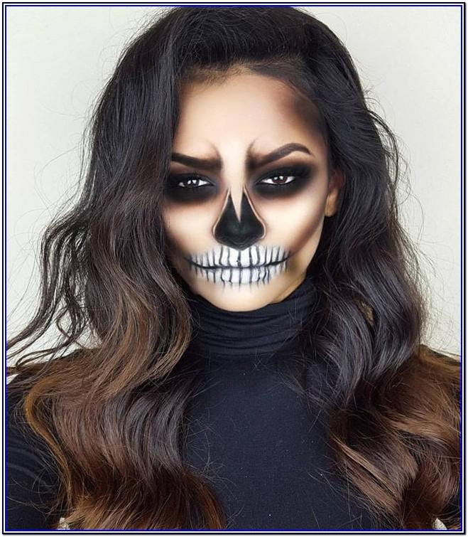 White Out Face Paint Ideas