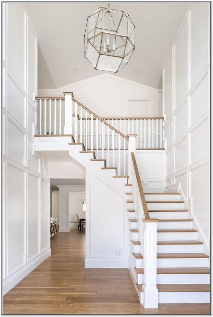 White Painted Stairs Ideas