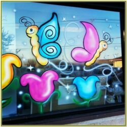 Window Painting Ideas For Easter