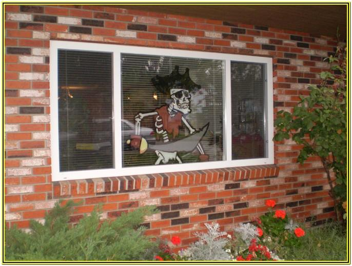 Window Painting Ideas For Halloween