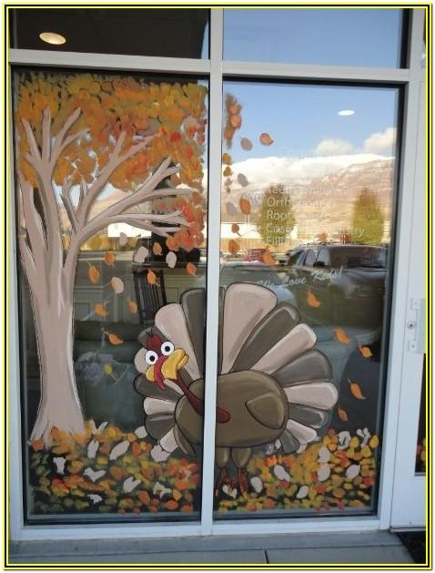 Window Painting Ideas For School