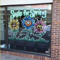 Window Painting Ideas For Spring