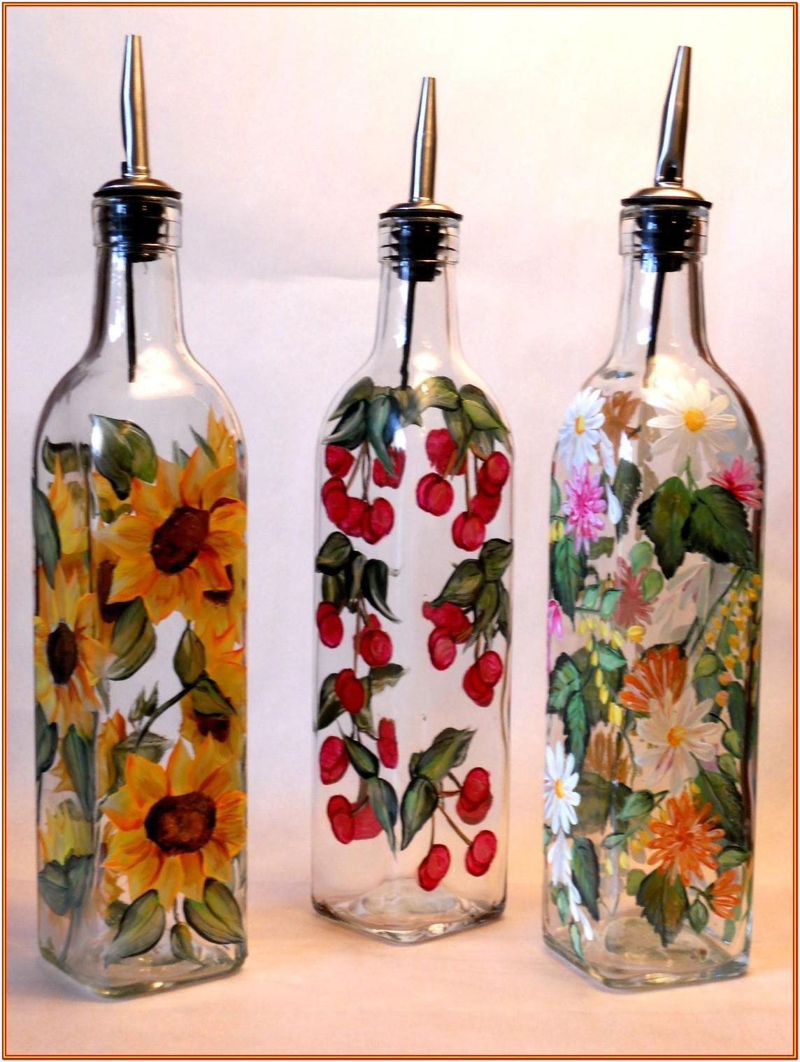Wine Bottle Painting Ideas