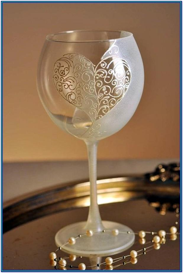Wine Glass Painting Ideas On Canvas