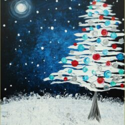 Winter Acrylic Painting Ideas