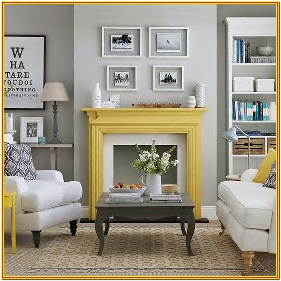 Yellow And Grey Living Room Paint Ideas