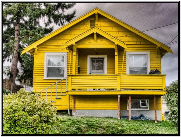 Yellow Exterior House Color Ideas