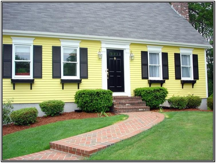 Yellow Exterior Paint Colors