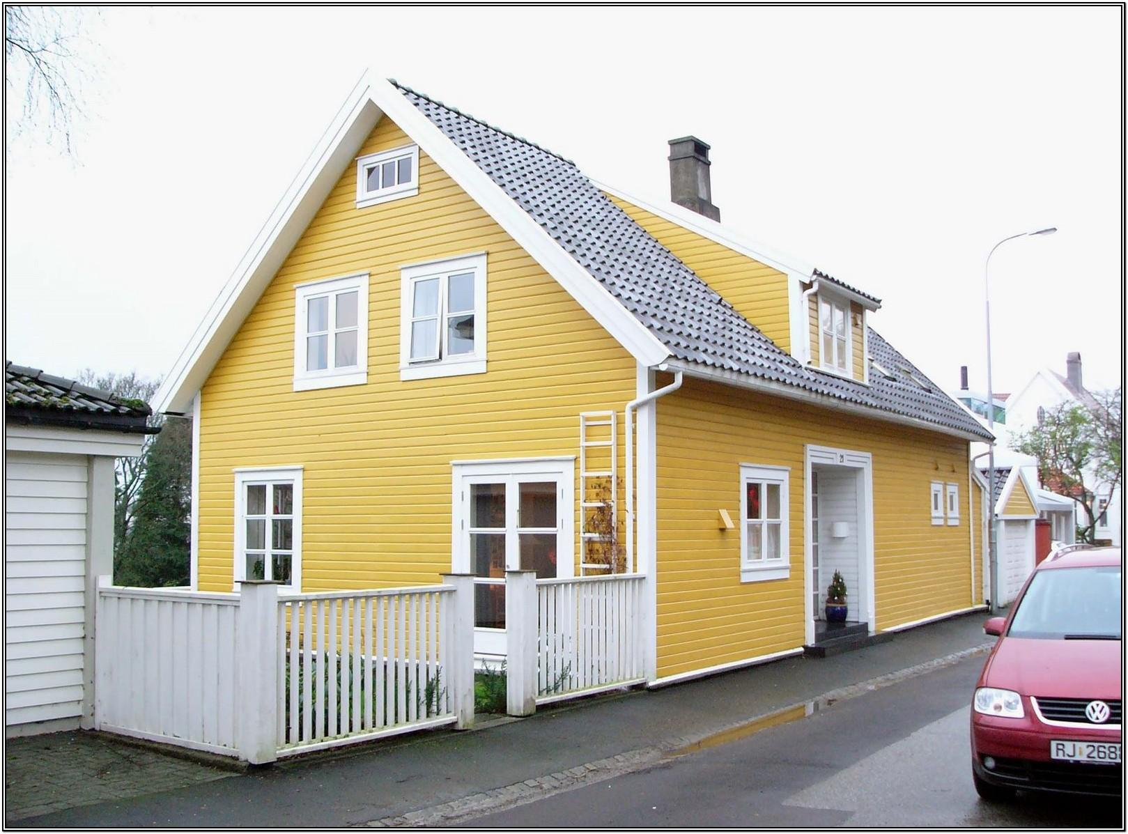 Yellow House Color Schemes
