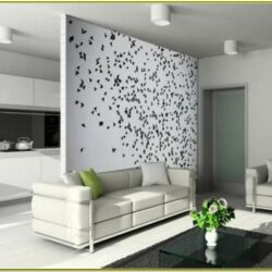 Accent Wall Ideas For Living Room With Wallpaper