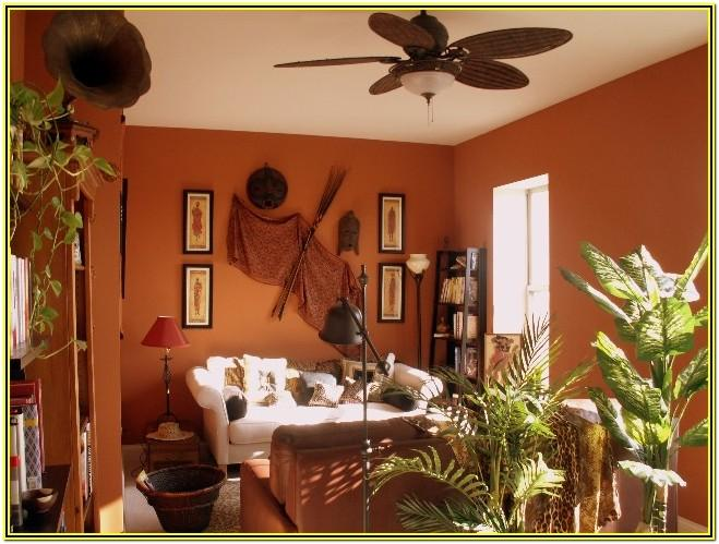 African Theme Living Room Decor