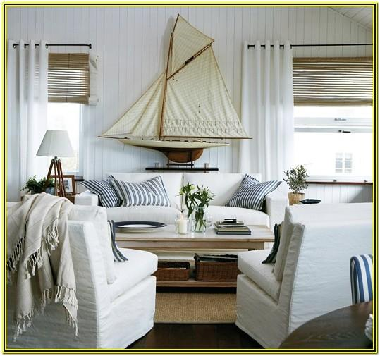 Beach Theme Living Room Designs