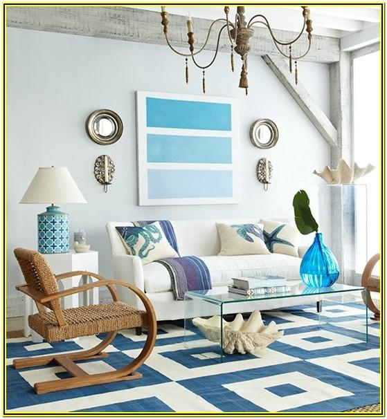 Beachy Living Room Ideas