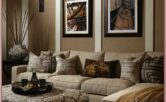 Beige And White Living Room Decor