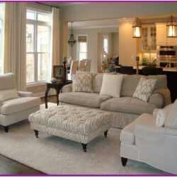Beige Carpet Living Room Decor