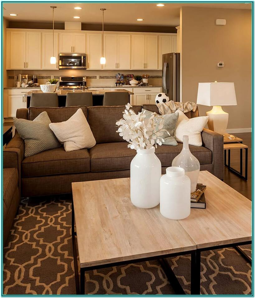 Beige White Living Room Decor Ideas