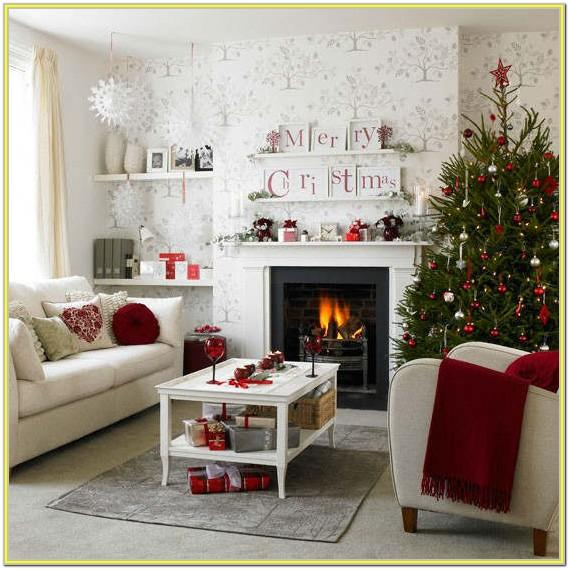 Best Christmas Decorated Living Rooms
