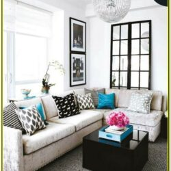 Black And Blue Living Room Decor