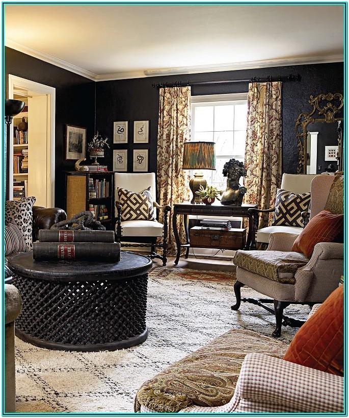 Black And Brown Living Room Decor Ideas