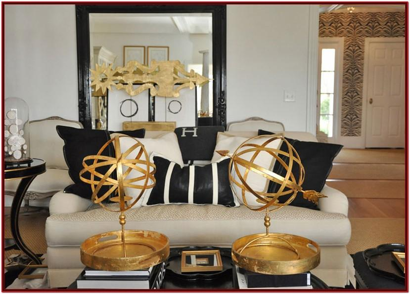 Black And Gold Living Room Decor Ideas