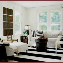 Black And White Decor Ideas For Living Room