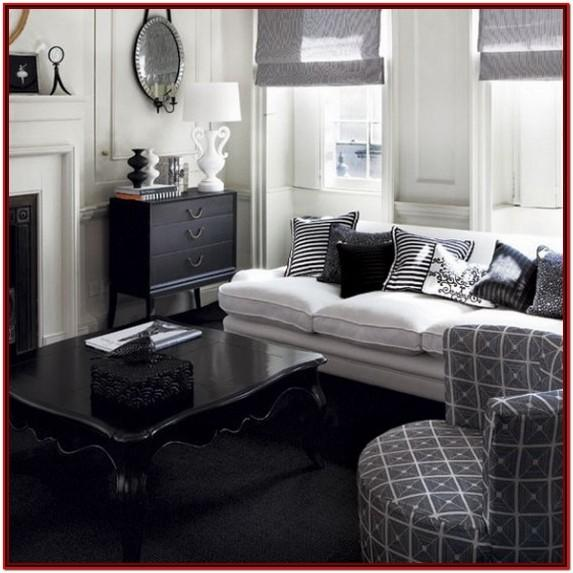 Black And White Living Room Accessories