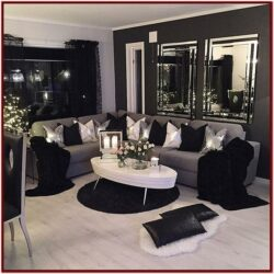 Black And White Living Room Decor Pinterest