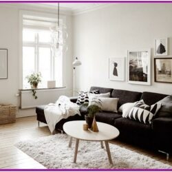 Black And White Living Room Decorating Ideas