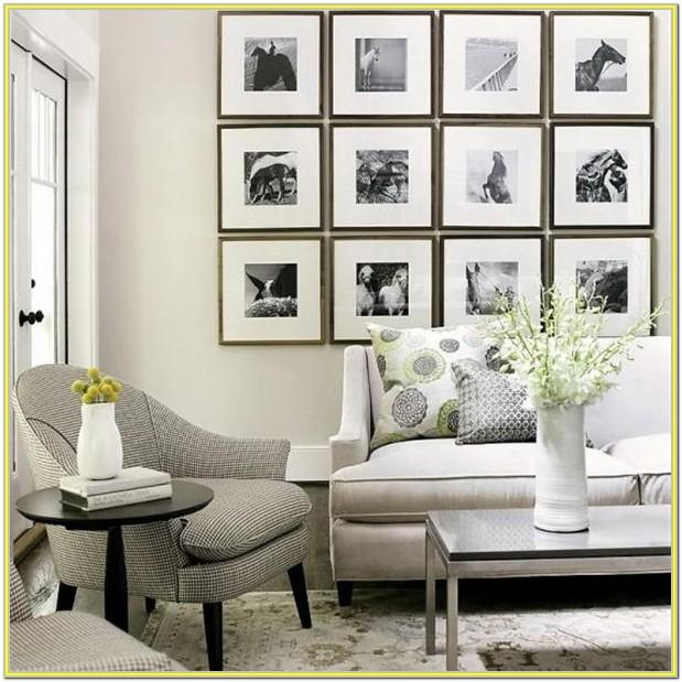 Black And White Living Room Wall Decor