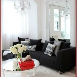 Black Couch Living Room Decor Ideas