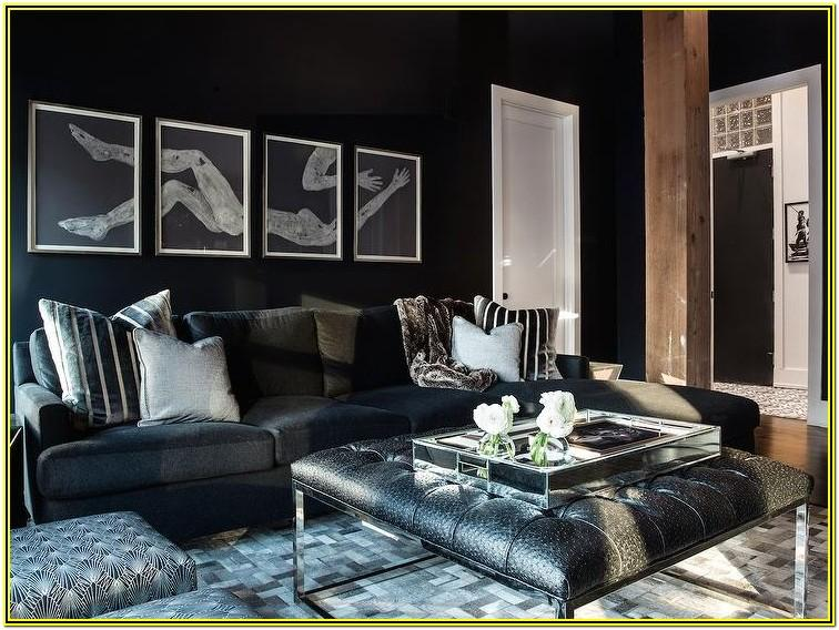 Black Furniture Decorating Ideas Living Rooms
