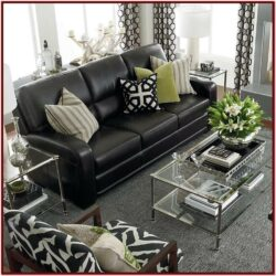 Black Furniture Living Room Decorating Ideas