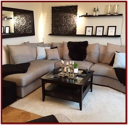Black Sofa Living Room Decor