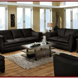 Black Sofas Decorating Living Room Ideas