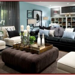 Black Tan Living Room Decorating Ideas