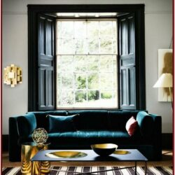 Black White And Teal Living Room Decor