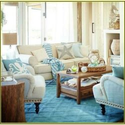 Blue And Beige Living Room Decor