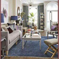 Blue Carpet Living Room Decorating Ideas