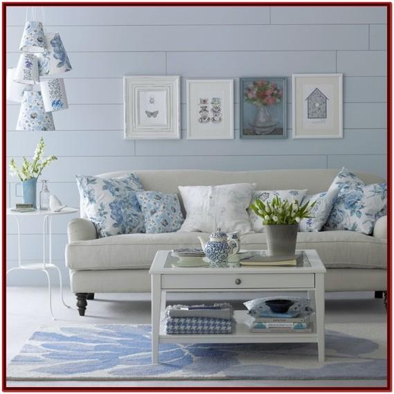 Blue Decorating Ideas Living Room