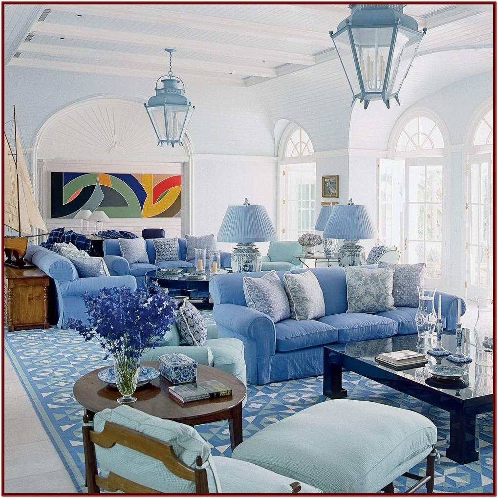 Blue Decoration Living Room