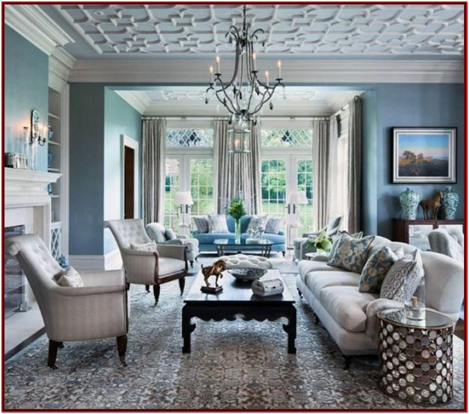 Blue Gray Living Room Designs
